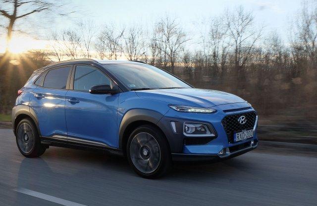 Arany középút – Hyundai Kona hibrid teszt