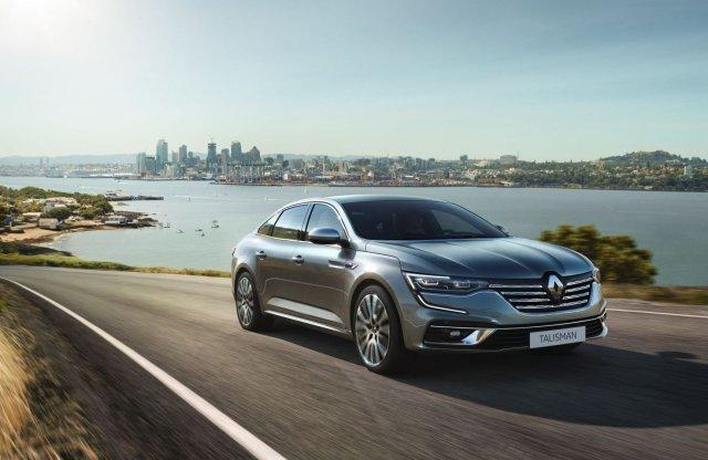 Öt év után frissül a Renault Talisman