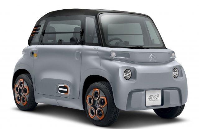 Gyártásba kerül a nyolc lóerős elektromos Citroën