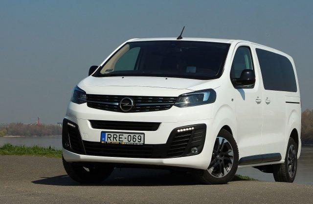 Variációk egy témára – Opel Zafira Life 2.0 D