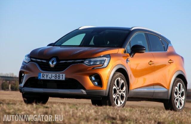 Kigyúrtan is szelíd – Renault Captur TCe 155 teszt