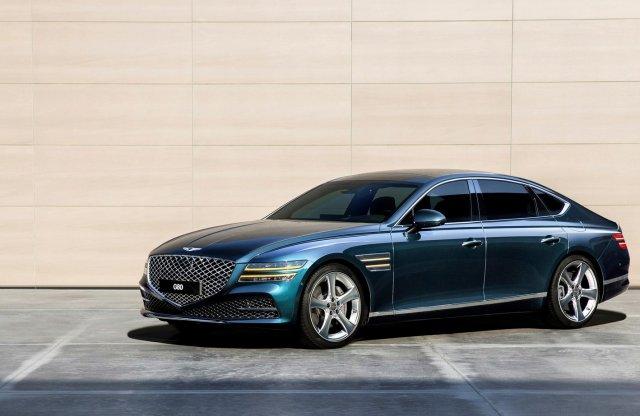 Tömény luxus és kényelem az új Genesis G80