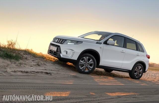 Feszültségteljes pillanatok – Suzuki Vitara Hybrid teszt