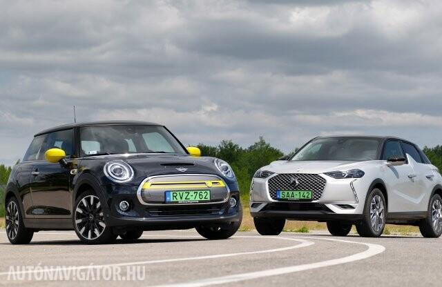 Így lesz vagány a villanyautózás – DS 3 vs. Mini Cooper