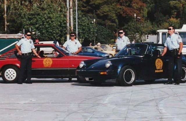 A görög rendőrflotta is impozáns volt valaha