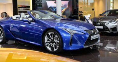 Nyit a nyárra – Hazánkban a csodás Lexus LC kabrió!