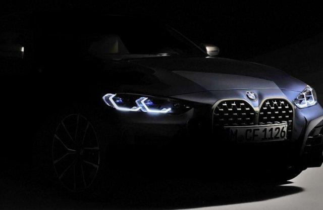 Szokj hozzá, hatalmas vesékkel érkezik az új BMW 4-es!