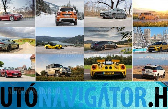 Legkedveltebb autós képeink – íme az idei összeállítás