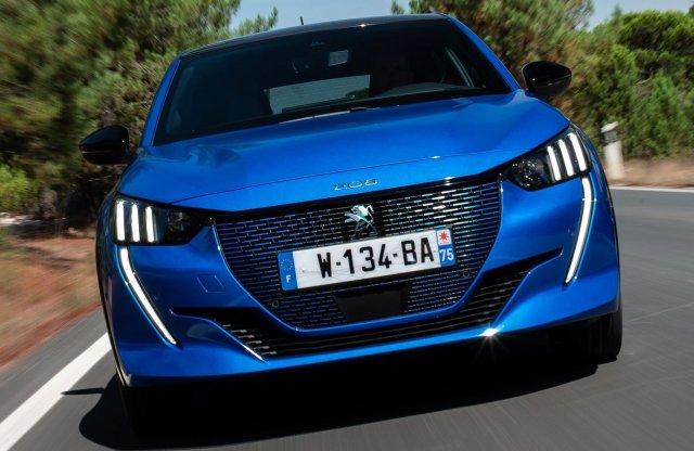 Lépett a Peugeot is: az e208 is megkapható már 8 milliótól