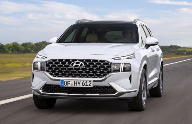 Új platformon érkezik a friss Hyundai Santa Fe