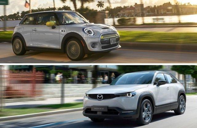 Államilag támogatott életstílus – Mazda MX-30 és Mini Cooper SE