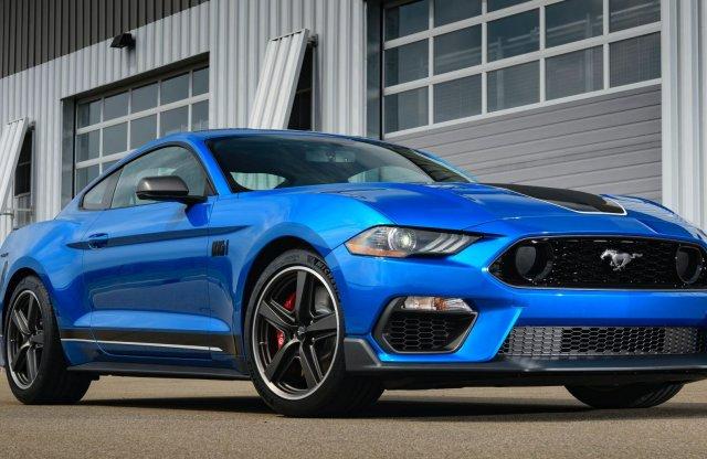 Újra hangsebességgel száguld a Mustang!
