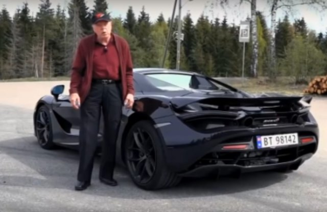 78 évesen McLarennel jár a bácsi