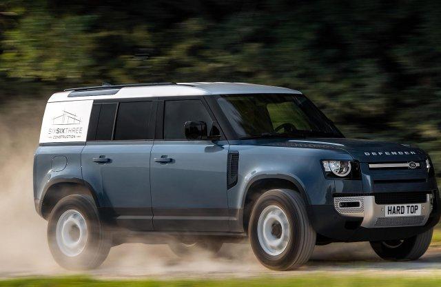 Haszonjármű változattal gazdagodott az új Land Rover Defender
