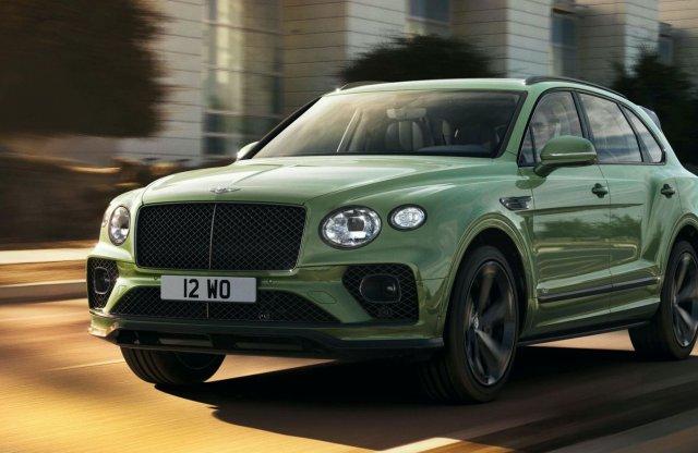 Hivatalos fotókon a friss Bentley Bentayga