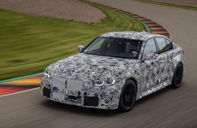Hatalmas veséket kap az új BMW M3 is?