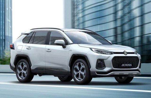 Suzuki Across: az első átemblémázott Toyota hozzánk is érkezik