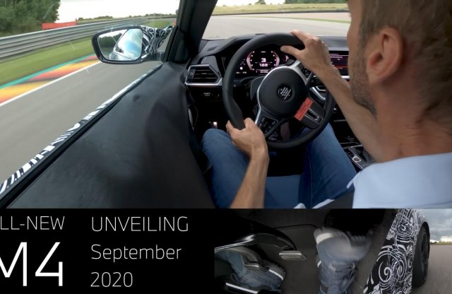 Ülj be egy körre az új BMW M4-be!