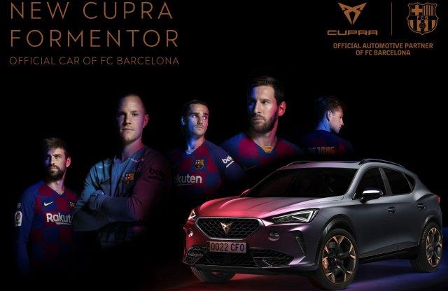 Saját városuk autóját kapják az FC Barcelona játékosai