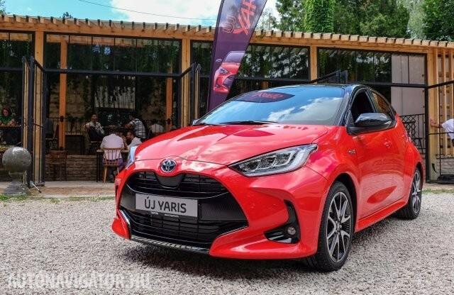 Itthon az új Toyota Yaris, megnéztük közelről