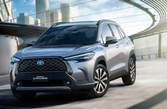 A legsikeresebb Toyota is kap új crossover kivitelt