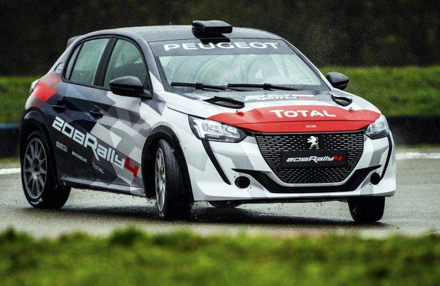 Budakeszin készülnek a Peugeot új raliautói