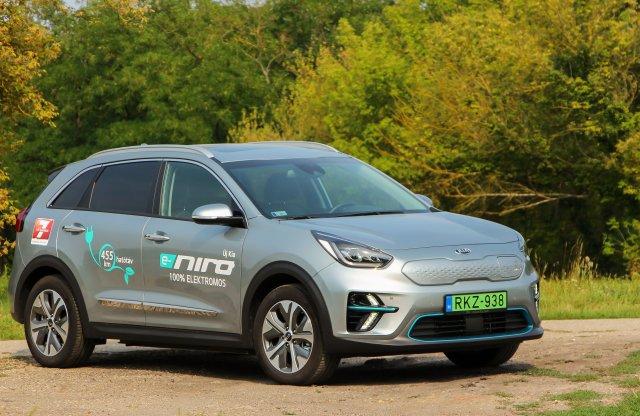 Az Év Zöldautója díjas Kia e-Niro lehet  a taxisok új kedvence