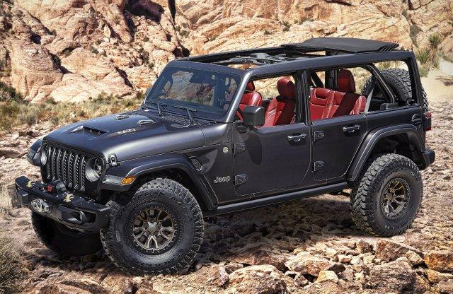 Visszatérhet a V8-as a Jeep Wranglerbe