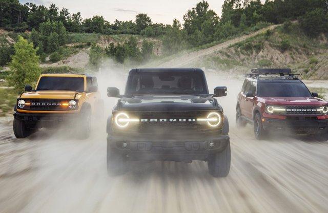 Feltámadt a Ford kőkemény terepjárója, a Bronco!