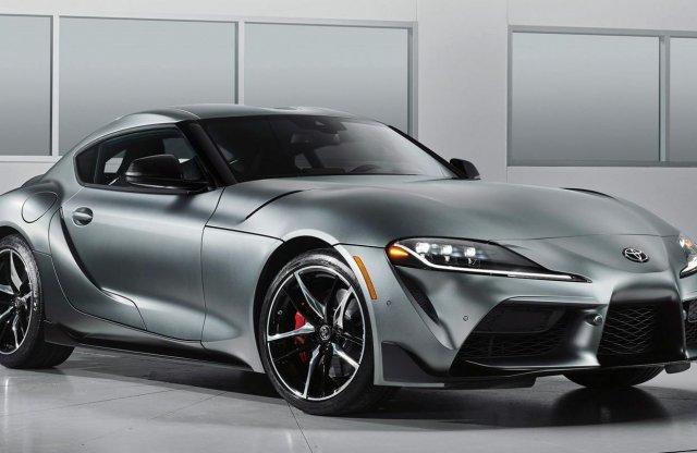 A BMW M3 erejével érkezhet a Toyota Supra