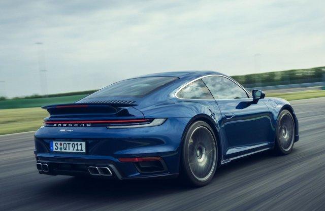 580 lóerővel érkezik az új Porsche 911 Turbo