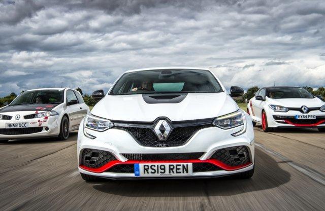Egyre élesebb – Ezek a Renault Sport legpengébb Megane-jai