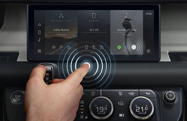 Érintésmentes érintőképernyőt talált fel a Jaguar Land Rover