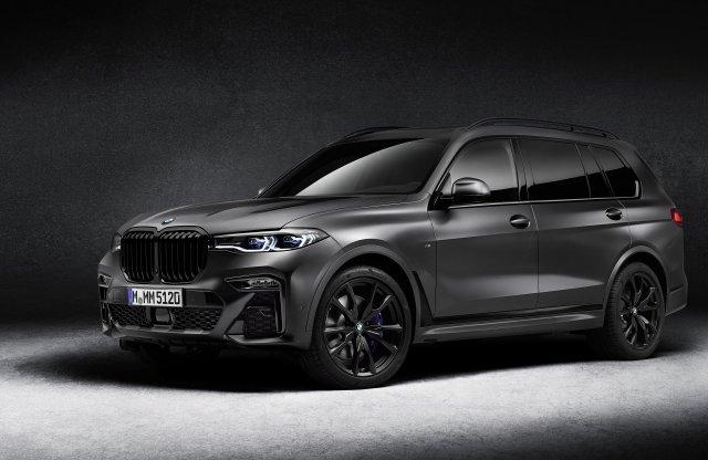 Ennél sötétebb már nem is lehetne a BMW X7