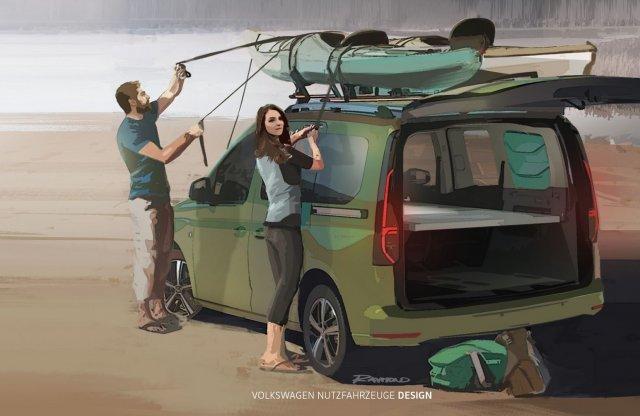 Új névvel érkezik VW Caddy friss kempingautó változata