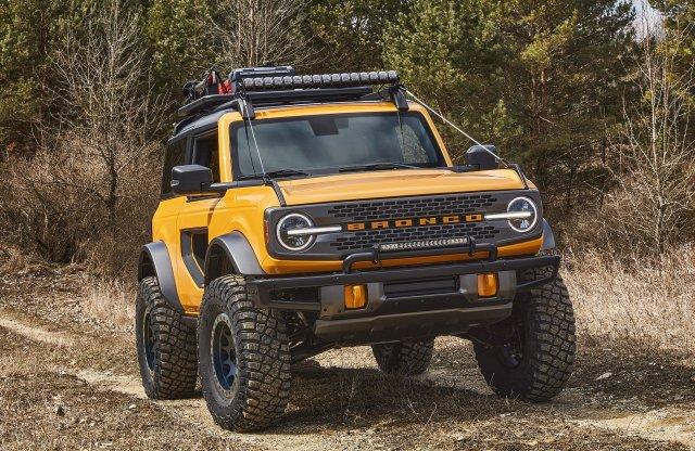 Masszív sikerre számíthat az új Ford Bronco
