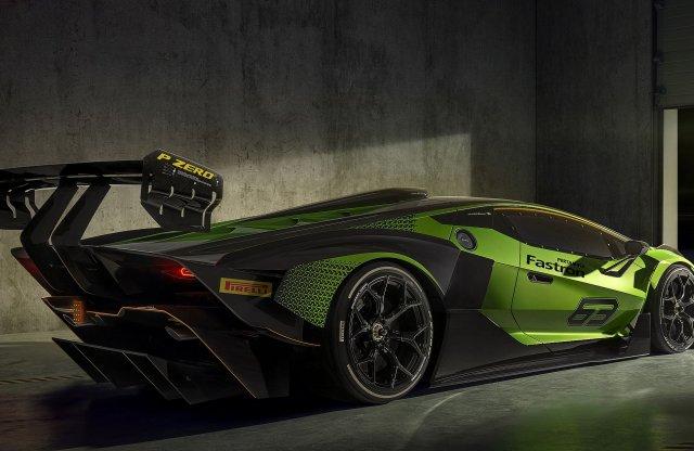 Ezt a Lamborghinit csak zárt pályán lehet vezetni