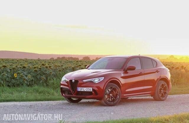 Erődemonstráció – Alfa Romeo Stelvio Quadrifoglio