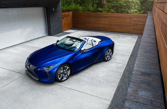 Vitorlás életmód inspirálta az első Lexus LC kabrió különkiadást