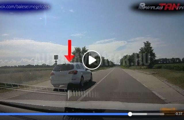 E videó alapján sincs nehéz dolguk a rendőröknek
