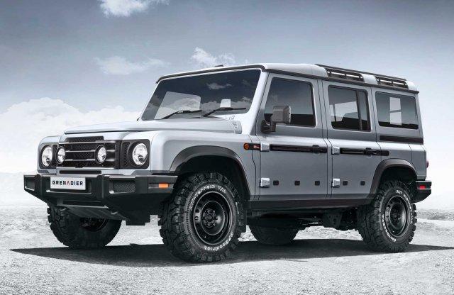 Nem elég jellegzetes, ezért másolható a Land Rover Defender