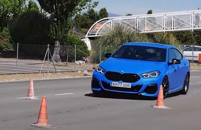 Megizzadt a BMW 2-es Gran Coupé a jávorszarvas teszten