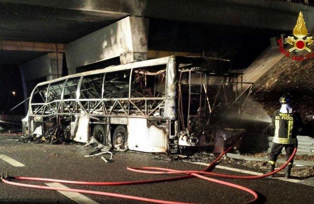 A veronai baleset busza is a Mozaikban vizsgázott