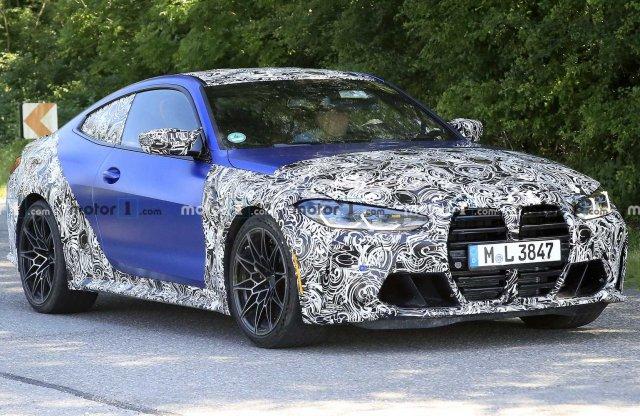 Küszöbön a BMW M4, már nem takargatják a veséit