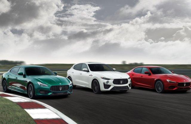 Új csúcsverziókat kapnak a Maserati limuzinjai