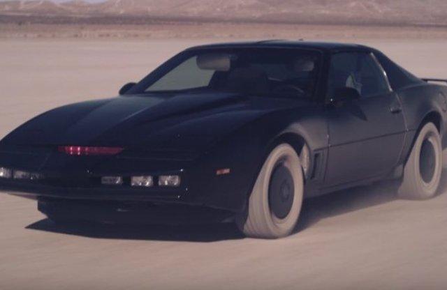 Mozifilm készül a Knight Riderből, de milyen autó lesz KITT?
