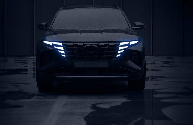 Az új Hyundai Tucson lesz az egyik legfeltűnőbb SUV