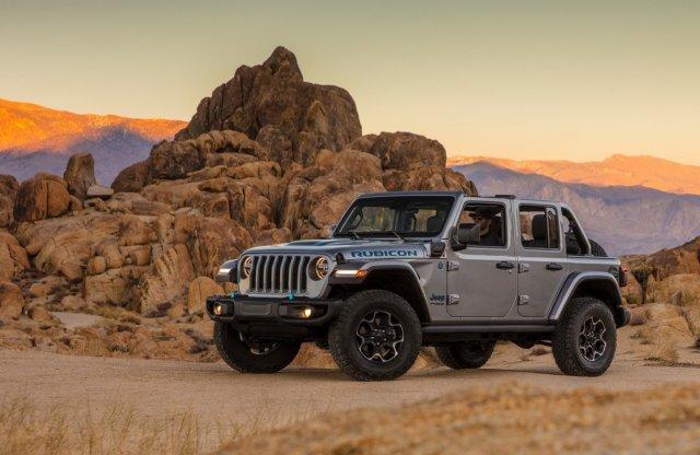 375 lóerős a hibrid Jeep Wrangler