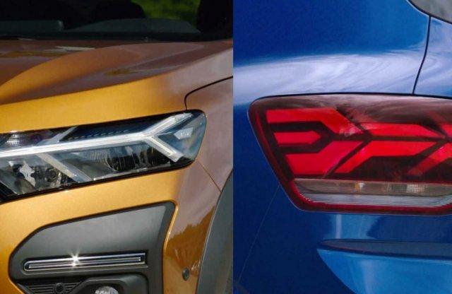 Ezek már az új Dacia Logan és Sandero lámpái!