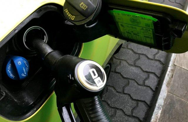 Szépen csökken a gázolaj ára, a benzin szerényebben követi